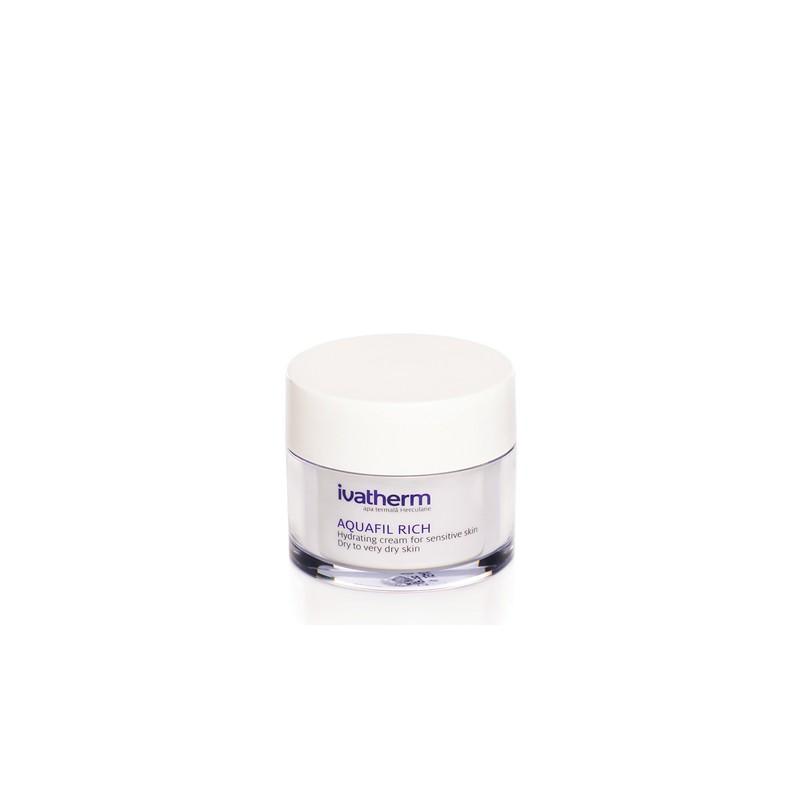 AQUAFIL RICH Crema Hidratanta Piele sensibila, uscata sau deshidratata, 50 ml