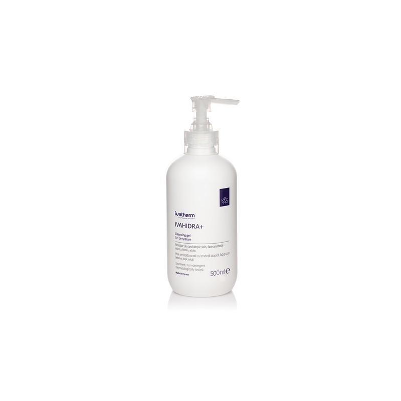 IVAHIDRA+ Gel de spalare piele sensibila, foarte uscata sau atopica, 500 ml