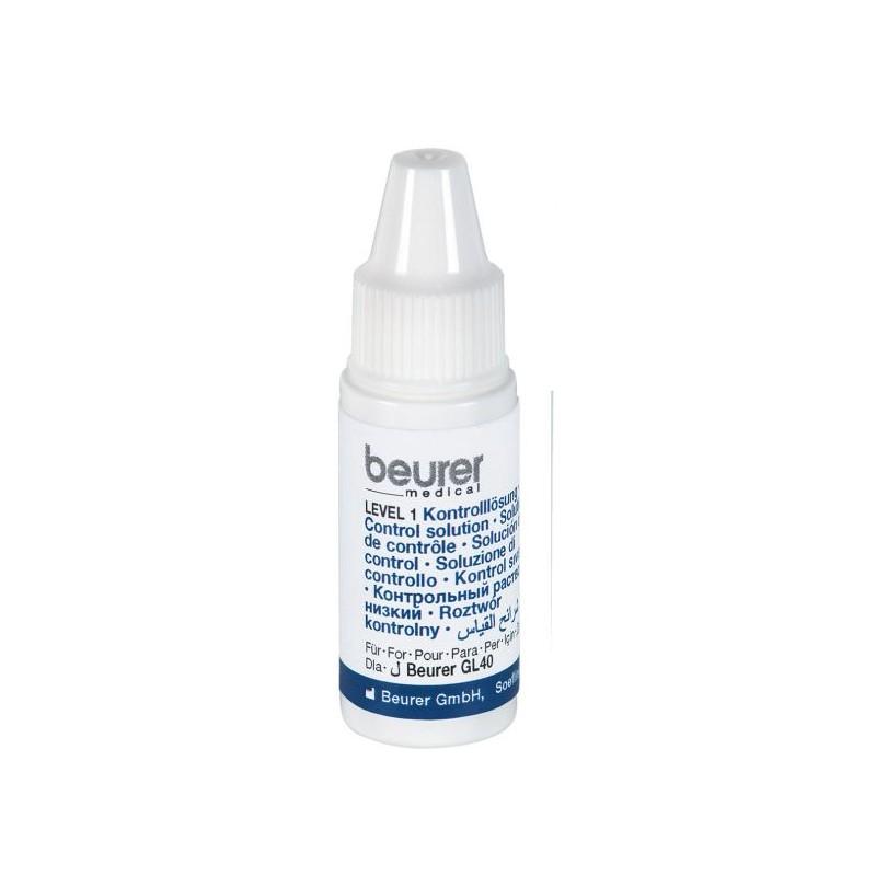 Soluţie de control pentru glucometrele Beurer