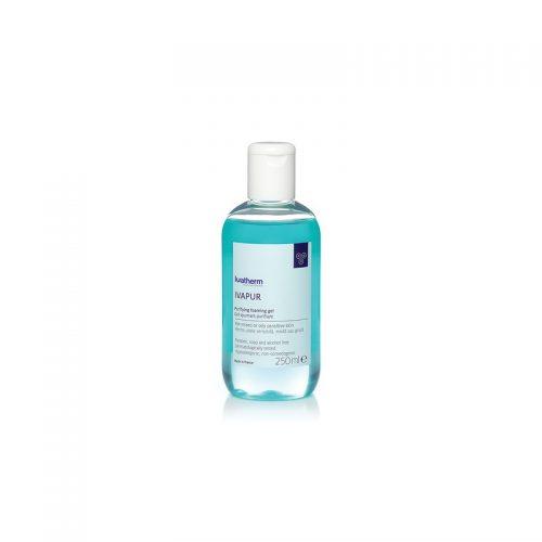 IVAPUR Gel de spalare pentru piele sensibila,mixta sau grasa 250 ml