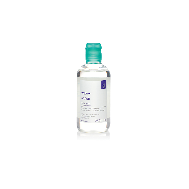 IVAPUR Lotiune micelara piele sensibila, mixta sau grasa, 250 ml -