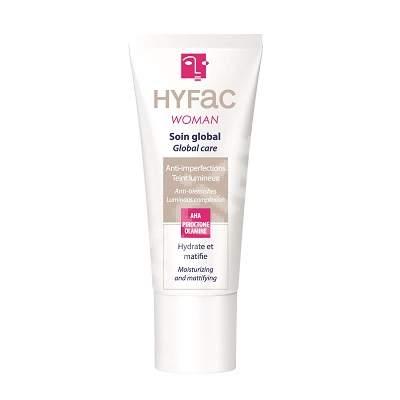 HYFAC Woman crema globala pentru piele mixta, 40 ml - tratament antiacnee