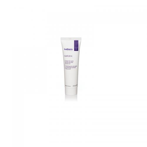 IVAPUR K Crema pentru ten gras cu tendinta acneica, 30 ml - tratament antiacnee