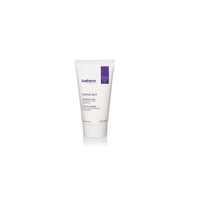 IVAPUR MAT Crema matifianta, piele mixta sau grasa, 40 ml -