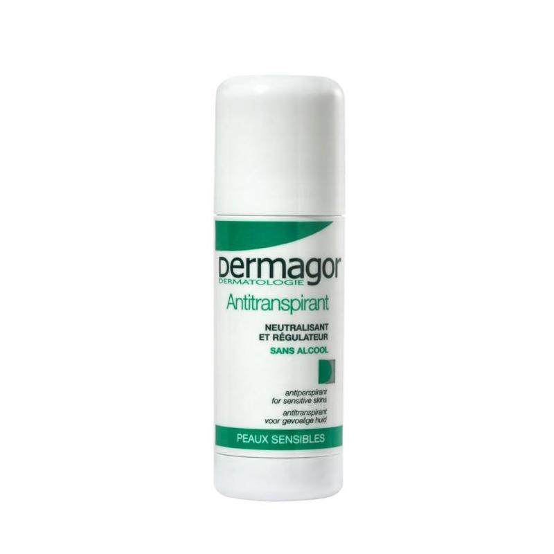 DERMAGOR Stick Anti-transpirant piele sensibila 24h, 40ml -