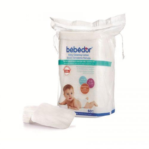 Dischete de curățare din bumbac BEBE D'OR, 60 buc. - BEBE D'or