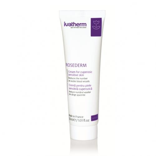 ROSEDERM Crema pentru piele sensibila si cuperozica, 30 ml -