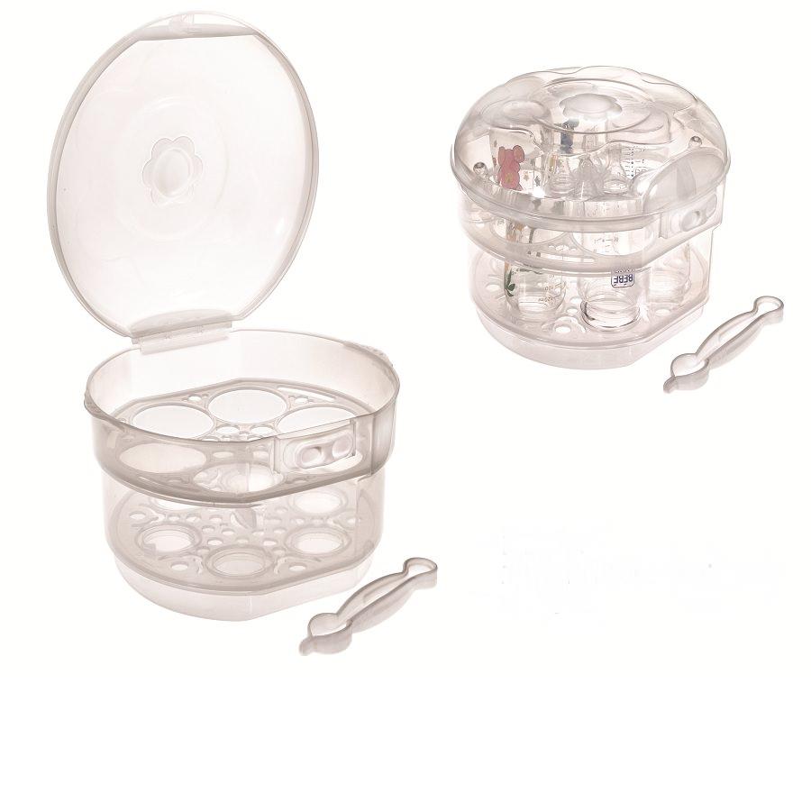Sterilizator BEBE D'OR pentru cuptorul cu microunde - 6 biberoane -