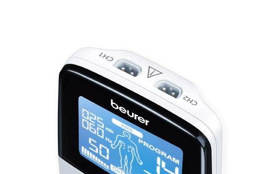 Instrucțiuni de utilizare pentru Aparatul de electrostimulare EMS/TENS digital  Beurer EM49 - Uncategorized