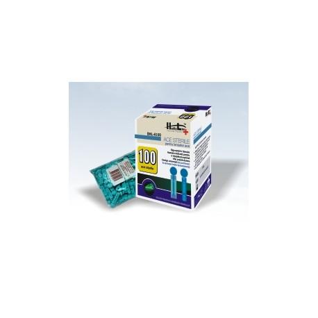 Ace sterile  SHL-A100 pentru glucometrele Healthy Line -