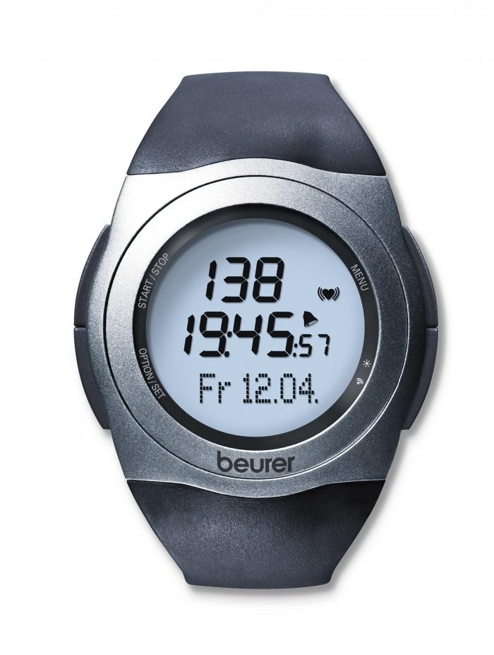 Ceas sport digital Beurer PM 25 pentru monitorizarea pulsului -