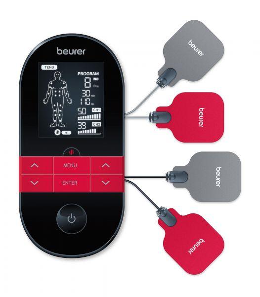 Dispozitiv digital TENS/EMS cu functie de incalzire Beurer EM59 -