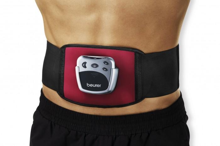 Centura electrostimulare abdominala Beurer EM30, 2 electrozi, 5 programe, -